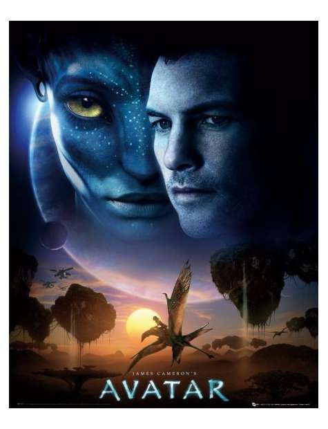 Avatar One Sheet - plakat