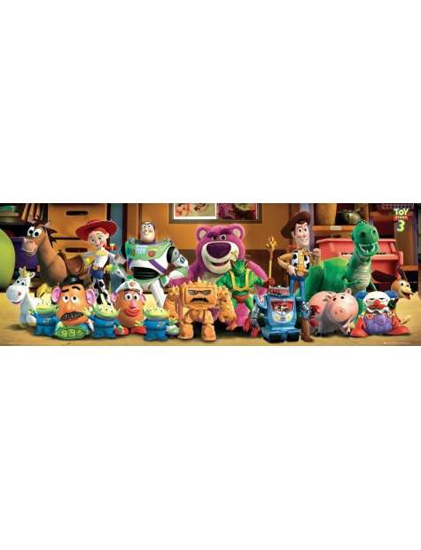 Toy Story 3 Bohaterowie - plakat