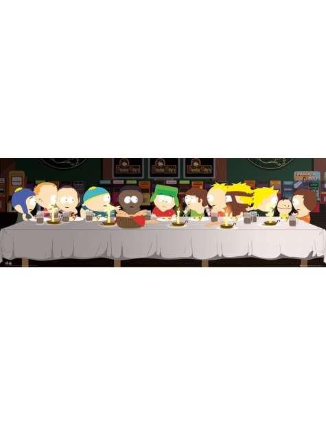 South Park Ostatnia Wieczerza Leonardo da Vinci - plakat