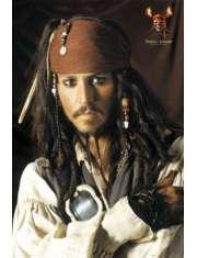 Piraci z Karaibów - Johnny Depp - Jack Sparrow - plakat