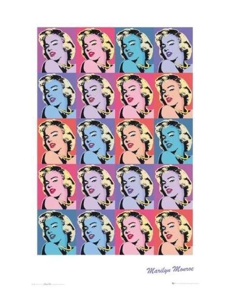 Marilyn Monroe Repeat - plakat
