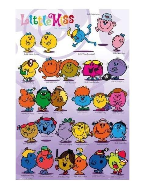 Little Miss Zabawa i Uśmiechy - plakat