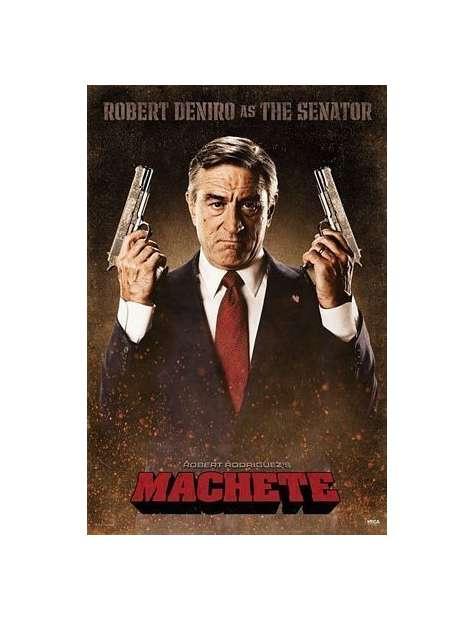 Machete Senator Robert Deniro - plakat
