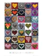 Madalenes Hearts - Kompilacja Serc - plakat