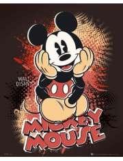 Myszka Miki Mickey Mouse - Walt Disney - plakat