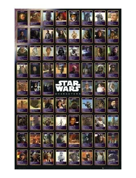 Star Wars Gwiezdne Wojny Kompilacja - plakat