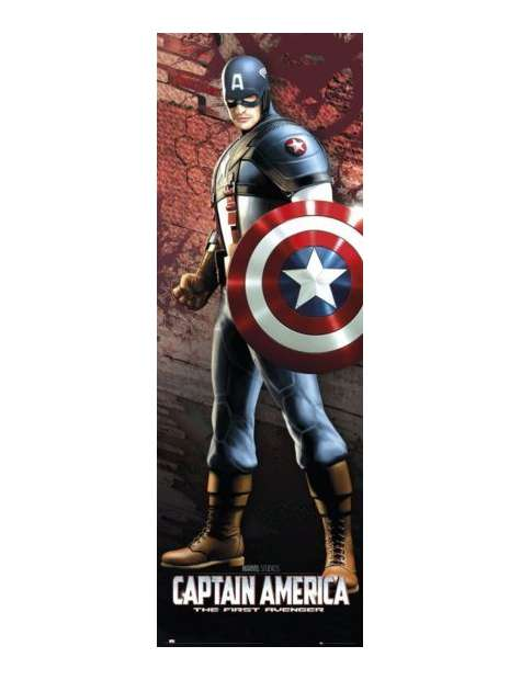 Kapitan Ameryka Solo - plakat
