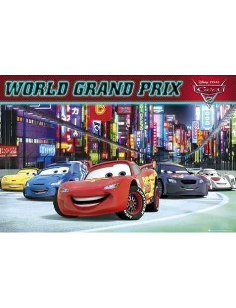 Auta 2 Cars 2 World Grand Prix - plakat