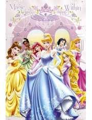 Disney Princess Księżniczki - Bal - plakat