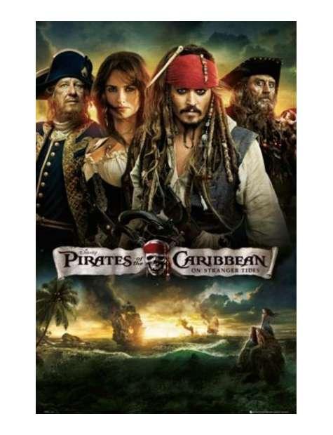 Piraci z Karaibów na Nieznanych Wodach - plakat