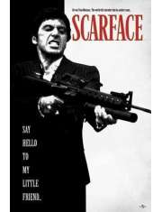 Człowiek z Blizną - Scarface Say Hello To My Little Friend - plakat