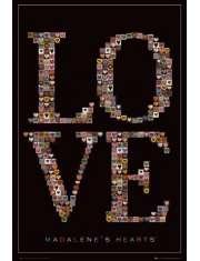 Madalenes Hearts Love - Serca Miłości - plakat