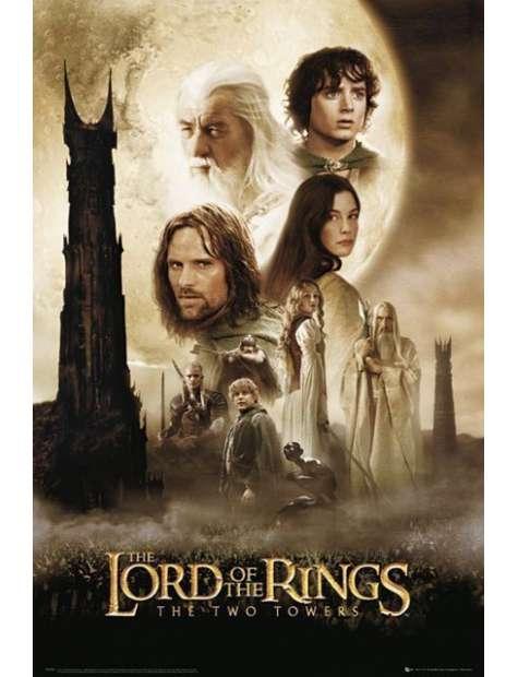 Władca Pierścieni Dwie Wieże - plakat