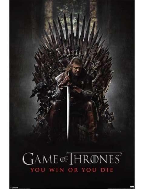 Gra o Tron Zwyciężysz lub Umrzesz - plakat