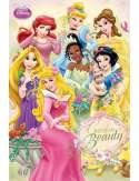 Disney Princess garden - Księżniczki - plakat