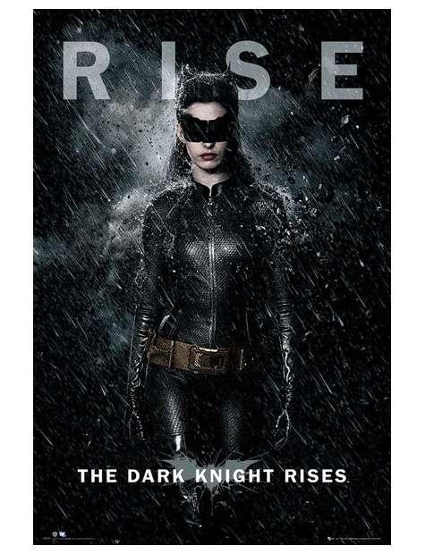 Kobieta Kot - Batman Mroczny Rycerz Powstaje - plakat