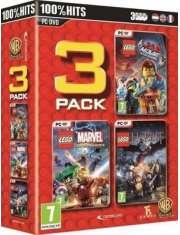 Lego Triple Pack: Movie, Marvel, Hobbit PC-19962