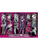 Monster High Upiorna Szkoła Grupa - plakat