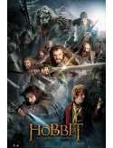 The Hobbit Collage - plakat