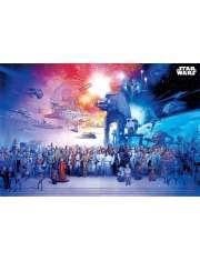 Star Wars Gwiezdne Wojny Wszyscy Bohaterowie - plakat
