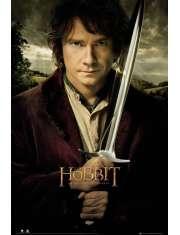 The Hobbit - Miecz Bilbo - plakat