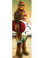 Star Wars - Gwiezdne Wojny - Chewie Surf - plakat