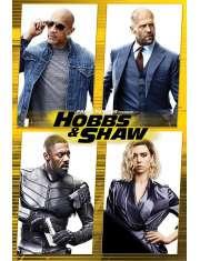 Szybcy i Wściekli Hobbs i Shaw - plakat