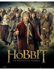 The Hobbit - Krasnale - plakat
