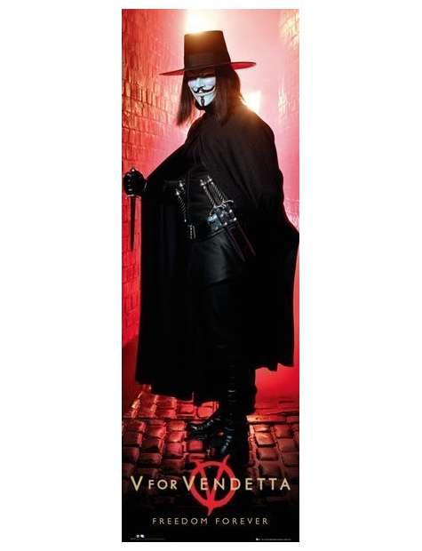 V For Vendetta - Freedom Forever - plakat
