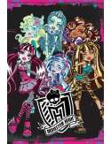 Monster High Upiorna Szkoła - Monsters - plakat