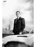 James Bond - Skyfall - Aston Martin DB5 - plakat