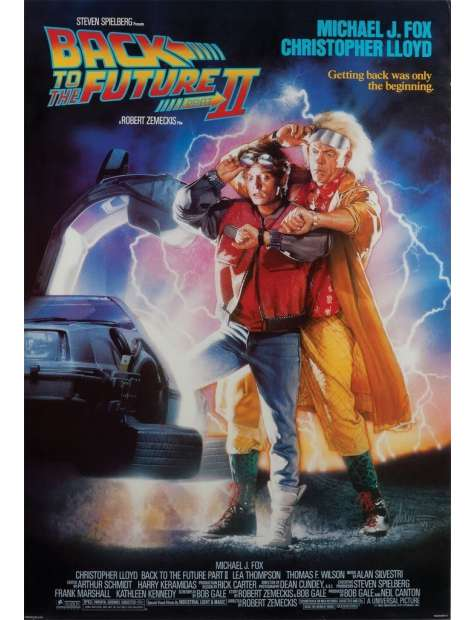 Back To The Future II - plakat