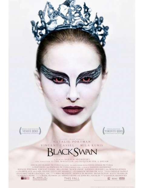 Black Swan - Czarny Łabędź - plakat