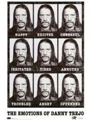 Machete - Danny Trejo - emocje - zabawny plakat