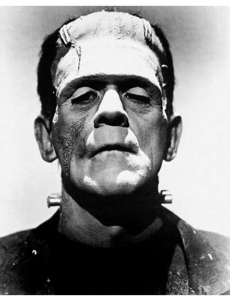 Frankenstein - Boris Karloff - plakat