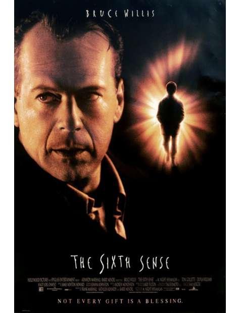 Szósty Zmysł - Bruce Willis - plakat