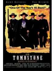 Western Tombstone - Wyatt Earp - plakat
