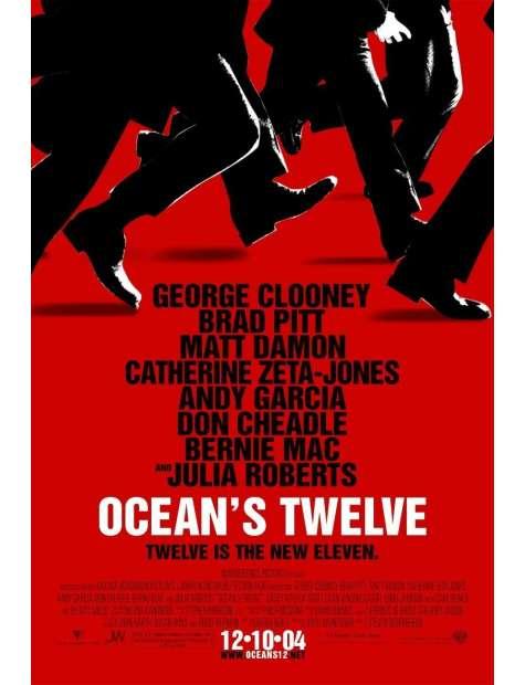 Oceans Twelve - plakat