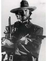 Clint Eastwood - Western - plakat