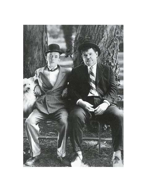 Flip i Flap - Laurel and Hardy - plakat