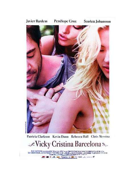 Vicky Cristina Barcelona - plakat