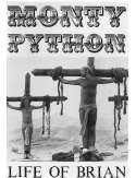 Monty Python Życie Briana - plakat