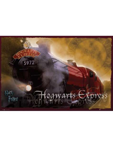 Harry Potter - Hogwarts Express - plakat