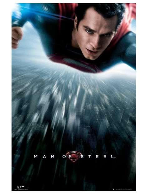 Superman Człowiek ze Stali - plakat