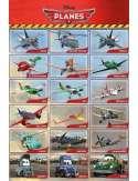 Samoloty - Planes Bohaterowie - plakat