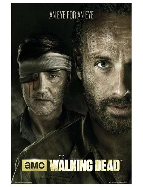 The Walking Dead - Oko za Oko - plakat