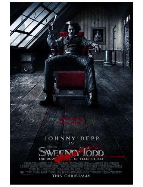Sweeney Todd Demoniczny golibroda z Fleet Street - plakat