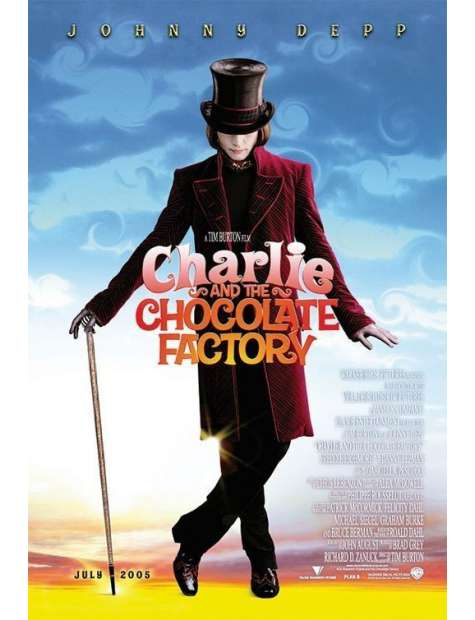 Charlie i Fabryka Czekolady - plakat