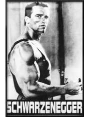 Arnold Schwarzenegger Komando - plakat