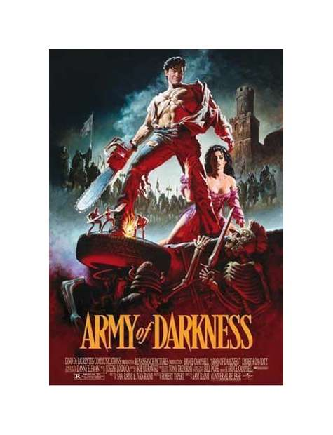 Armia Ciemności - plakat